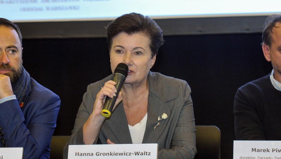 Hanna Gronkiewicz-Waltz /Marcin Obara /PAP