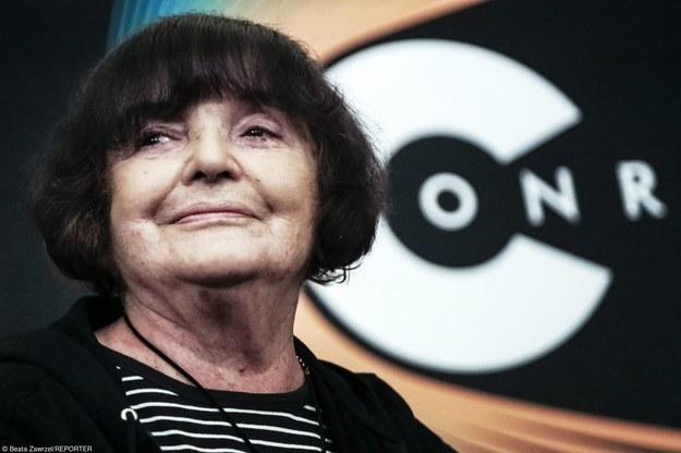 Hanna Krall/fot. Beata Zawrzeł /Reporter