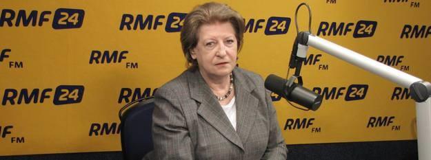 Hanna Suchocka /Kamil Młodawski /RMF FM