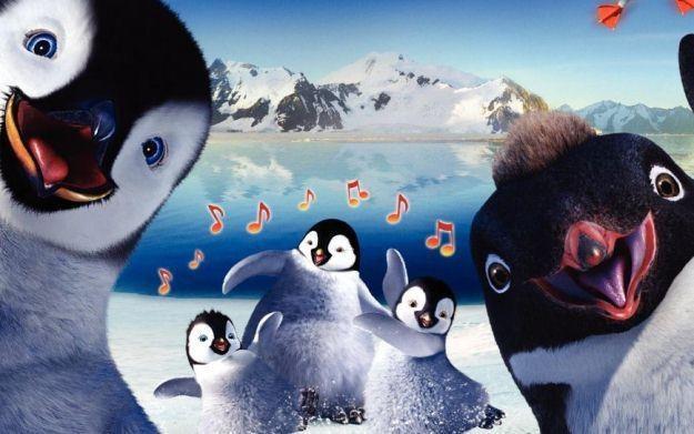 Happy Feet 2 - motyw graficzny /Informacja prasowa