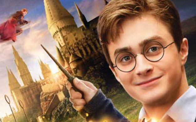 Harry Potter for Kinect - motyw graficzny /Informacja prasowa