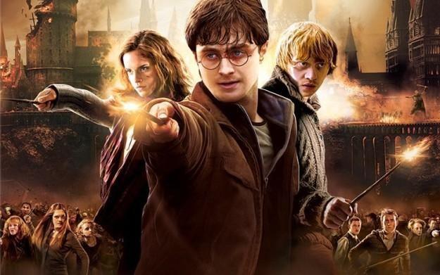 Harry Potter i Insygnia Śmierci cz.2 - motyw graficzny /Informacja prasowa