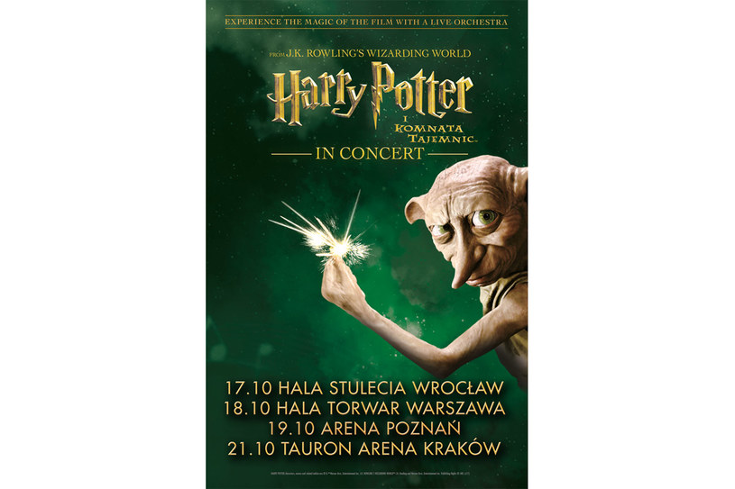 Harry Potter I Komnata Tajemnic in Concert /Styl.pl/materiały prasowe