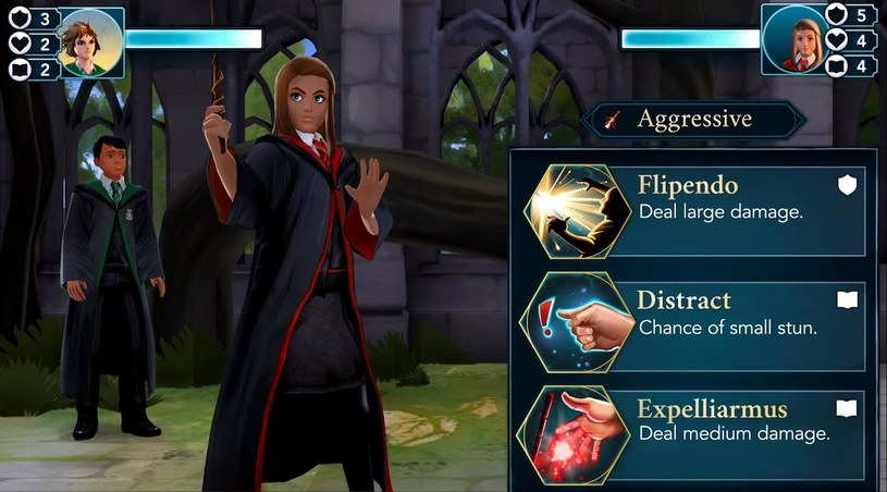 Harry Potter i tajemnice Hogwartu /materiały prasowe