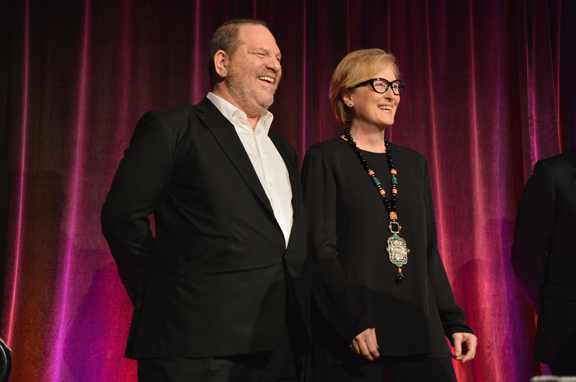 Harvey Weinstein i Meryl Streep /AFP