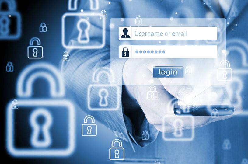 Hasła i loginy są ulubionym celem cyberprzestępców /©123RF/PICSEL