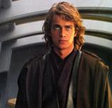 Hayden Christensen jako Anakin Skywalker /