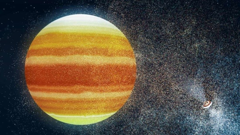 """HD 286123 b to typowy """"gorący Jowisz"""" /materiały prasowe"""