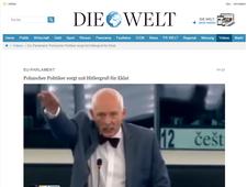 Heilujący Janusz Korwin-Mikke już w zagranicznych mediach