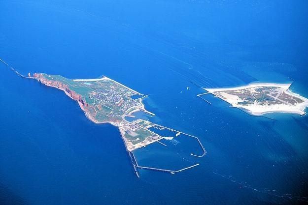 Helgoland to wyspa o powierzchni 1,7 km kw. /AFP
