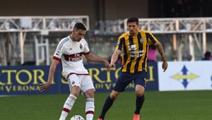 Hellas Werona - AC Milan 2-1 w 35. kolejce Serie A