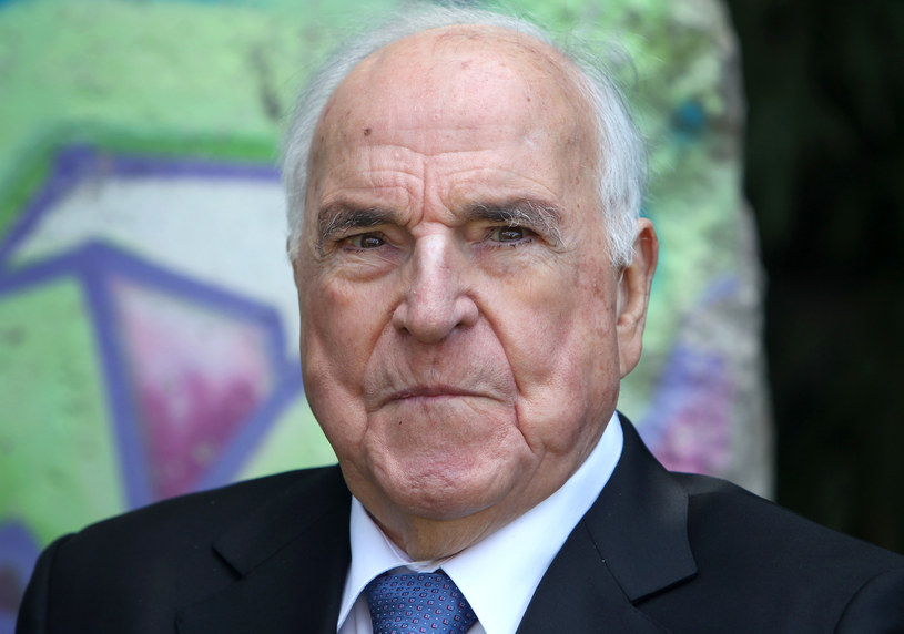 Helmut Kohl, fotografia wykonana w 2014 roku /AFP