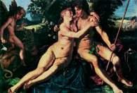 Hendrick Goltzius, Wenus i Adonis, 1614 r. /Encyklopedia Internautica