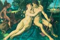 Hendrick Goltzius, Wenus i Adonis, 1614 /Encyklopedia Internautica