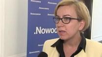 Hennig-Kloska (Nowoczesna) o zakazie handlu w niedzielę (05.09.2016) (TV Interia)