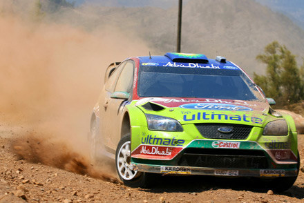 Henning Solberg (Ford Focus) /AFP