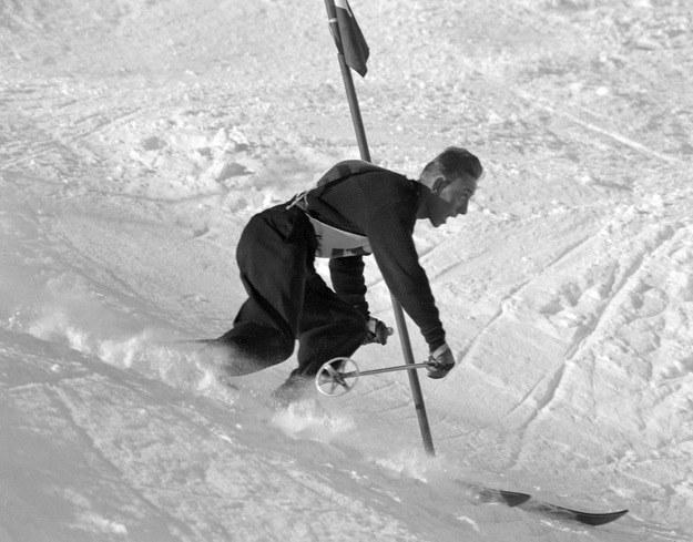 Henri Oreiller zdobył trzy medale na igrzyskach w Sankt Moritz. /AFP