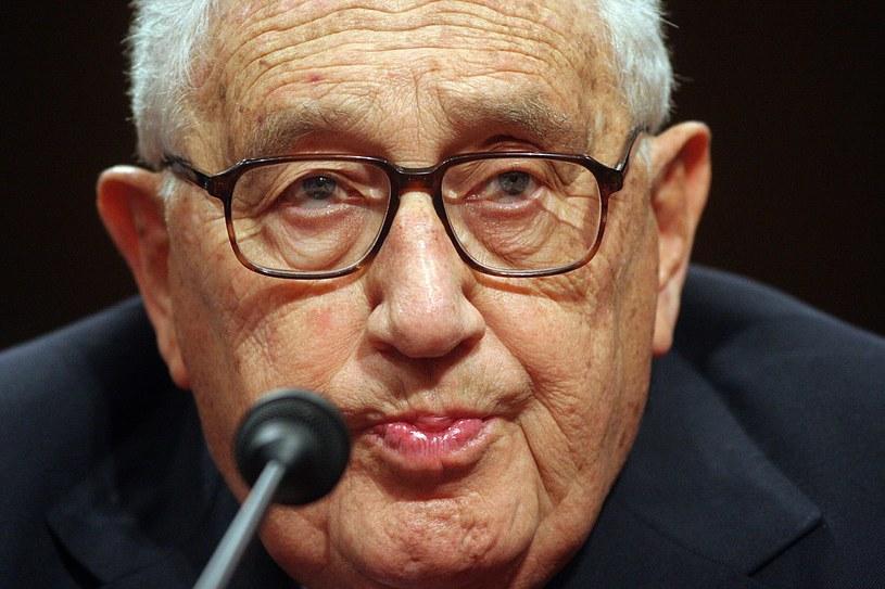 Henry Kissinger ostrzega przed zimną wojną /AFP