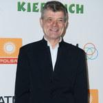 Henryk Gołębiewski na imprezie jubileuszowej serialu. Był w doskonałym humorze