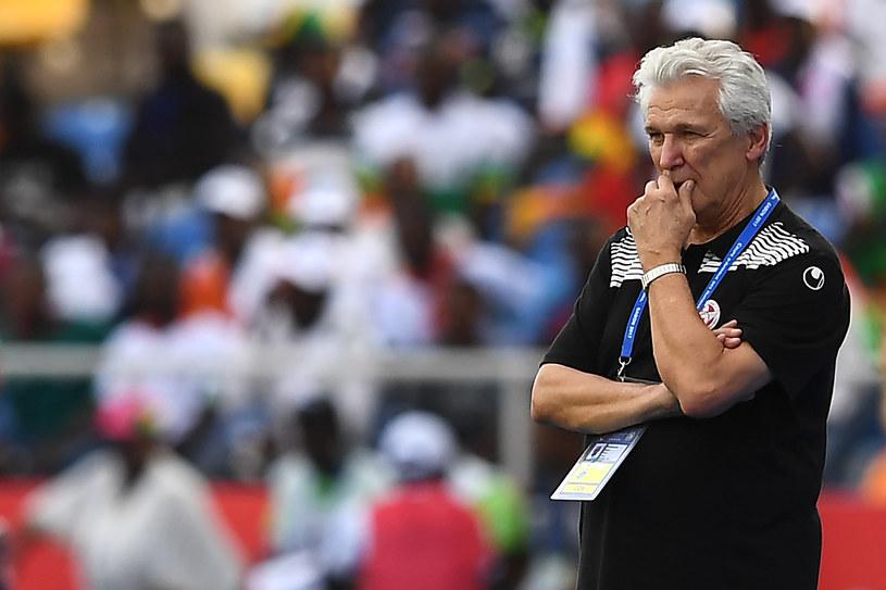 Henryk Kasperczak podczas ćwierćfinałowego meczu z Burkina Faso /AFP