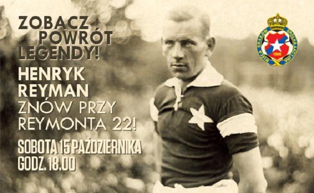 Henryk Reyman wraca na swój stadion. /Archiwum