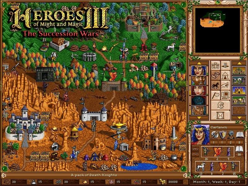 Heroes of Might & Magic III The Succession Wars /materiały źródłowe