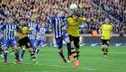 Hertha Berlin - Borussia Dortmund 0-0 w 20. kolejce Bundesligi