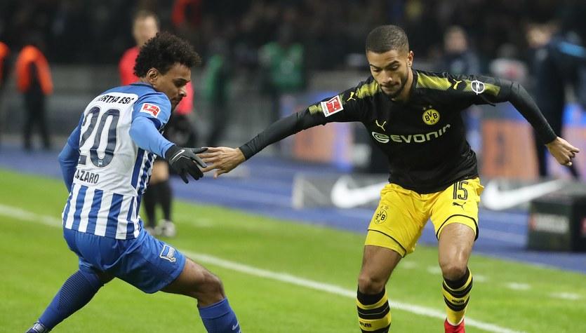 Hertha Berlin - Borussia Dortmund 1-1. Kuriozalny błąd Ondreja Dudy