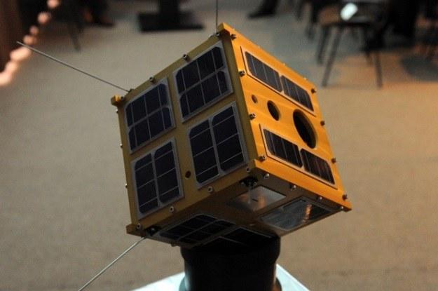 Heweliusz to satelita typu CubeSat /materiały prasowe
