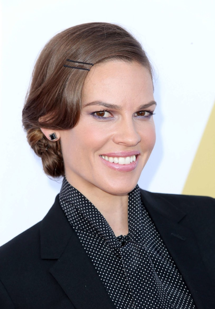 Hilary Swank /Getty Images