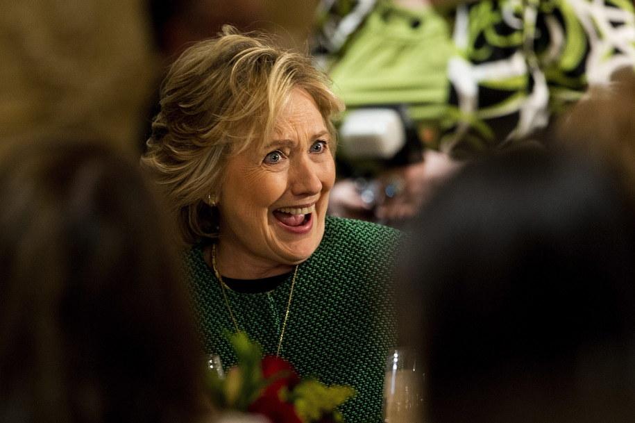 Hillary Clinton / ANDREW GOMBERT    /PAP/EPA