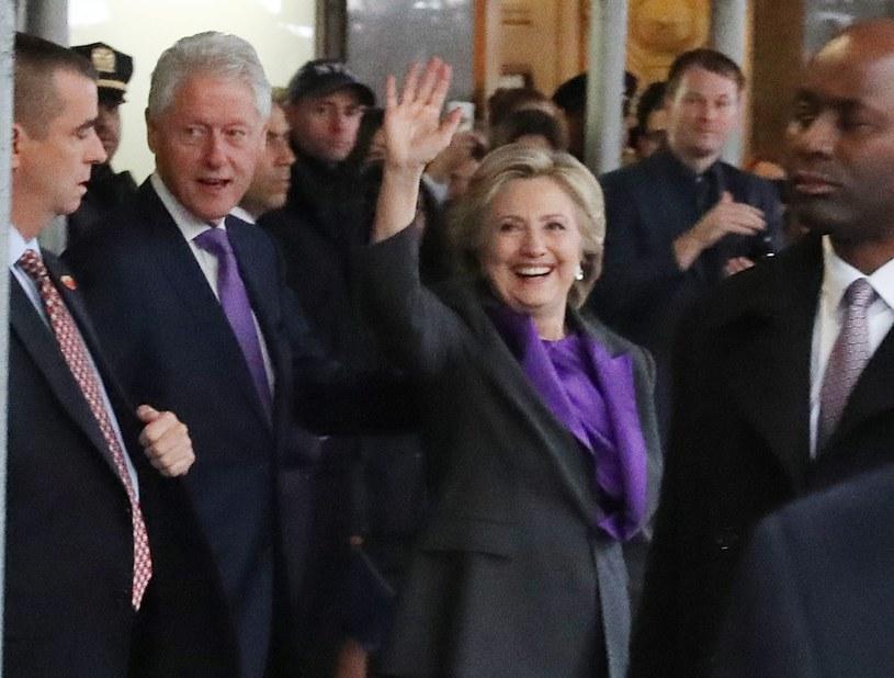 Hillary Clinton /ANDREW GOMBERT /PAP/EPA