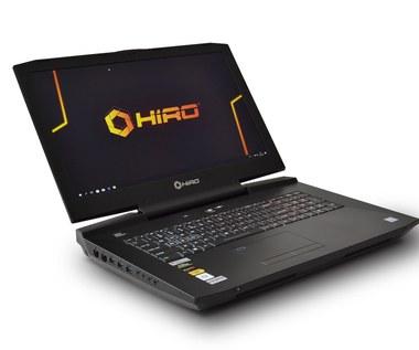 HIRO wprowadza na rynek cztery nowe, wydajne modele laptopów dla graczy