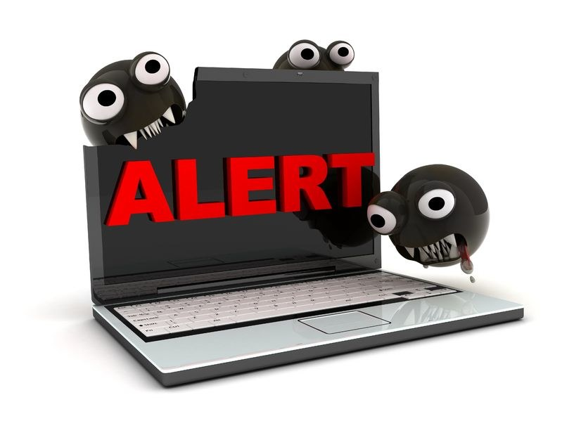Historia cyberprzestępczości zna także przypadki zupełnie niegroźnych wirusów. /©123RF/PICSEL