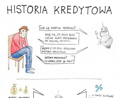 Historia kredytowa (infografika)