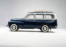 Historia Volvo kombi