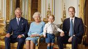 Historyczne zdjęcie! Królowa i trzy pokolenia następców tronu