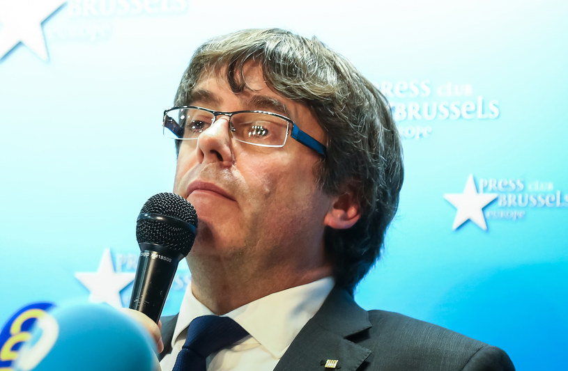Hiszpania wydała już nakaz aresztowania Puigdemonta /Aurore Belot /AFP