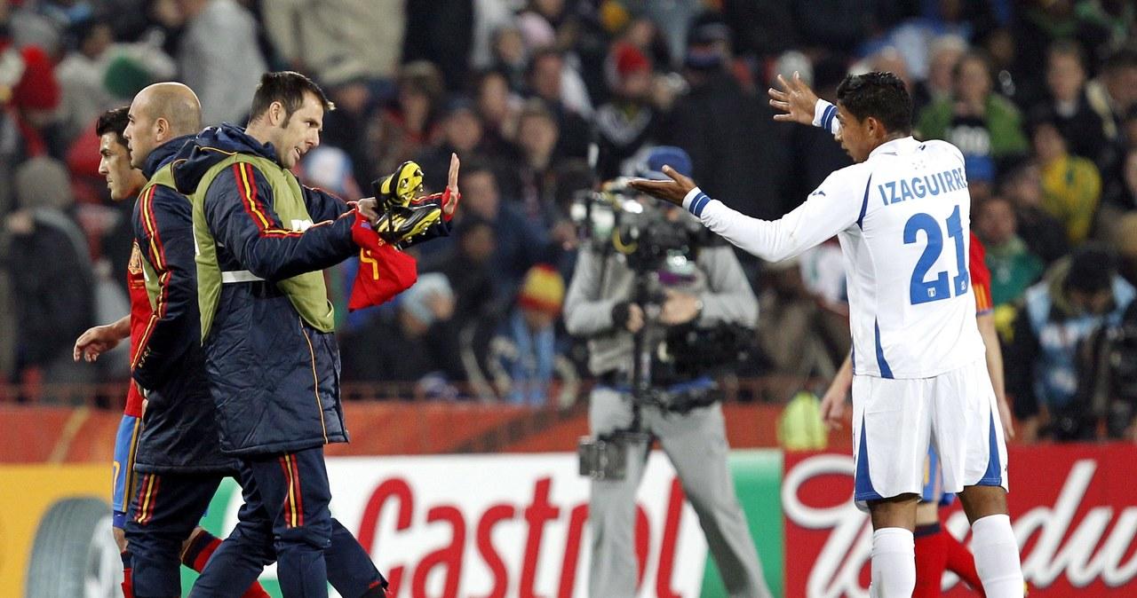 Hiszpania wygrała z Hondurasem 2:0