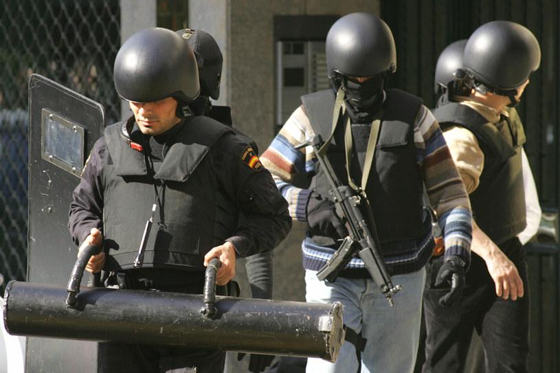 Hiszpańscy antyterroryści; zdj. ilustracyjne /AFP