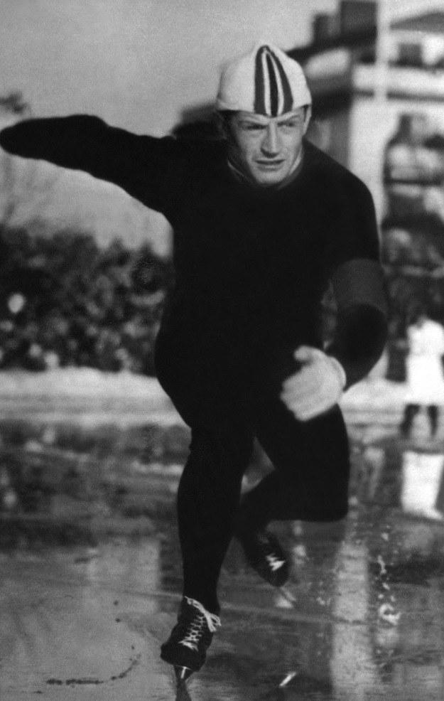 Hjalmar Andersen zdobył trzy złote medale w Oslo /AFP