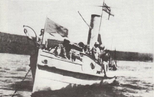 "HMS ""Fifi"" - były niemiecki ""Kinagi"" /INTERIA.PL/materiały prasowe"