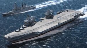 HMS Queen Elizabeth - Wielka Brytania wraca na morza i oceany