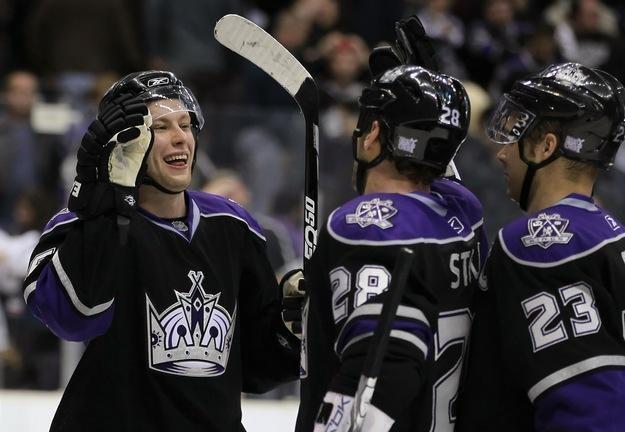 Hokeiści Los Angeles Kings wygrali wysoko z Colorado Avalanche /AFP