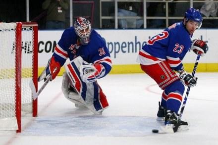 Hokeiści New York Rangers prezentują ostatnio słabą formę /AFP