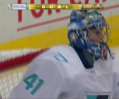 Hokejowy PŚ: Europa - Szwecja 3-2. Skrót meczu