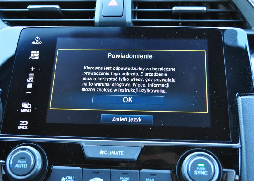 Honda Civic 1.5 Sport Plus /INTERIA.PL