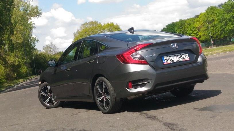 Honda Civic sedan /INTERIA.PL