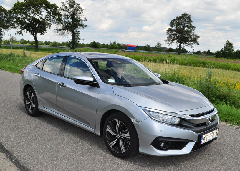 Honda Civic sedan /INTERIA.PL