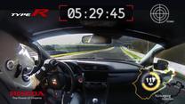Honda Civic Type R - rekordowy przejazd na Nurburgringu